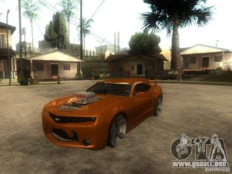 Chevrolet Camaro SS Dark Custom Tuning para GTA San Andreas