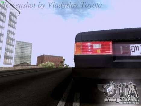 Toyota Corolla TE71 Coupe para la vista superior GTA San Andreas