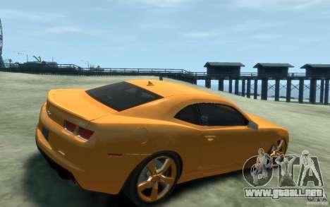 Chevrolet Camaro SS 2010 para GTA 4 visión correcta