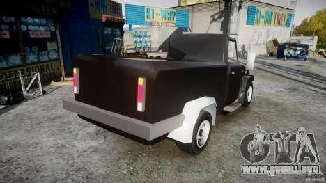 Desoto Ad250 4x4 para GTA 4 vista interior