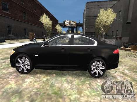 Jaguar XFR para GTA 4 left