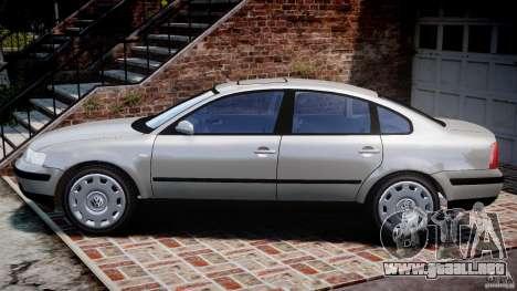 Volkswagen Passat B5 para GTA 4 left