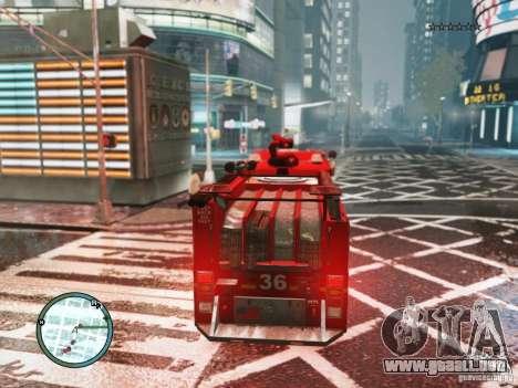 New LCFD Car para GTA 4 visión correcta