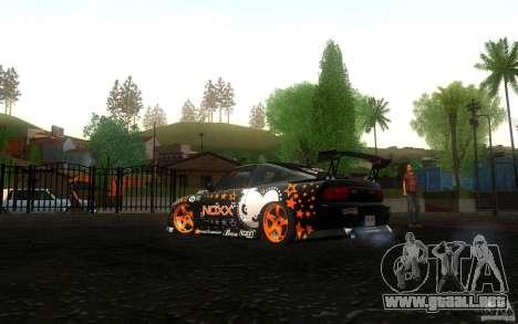 Nissan Silvia RPS13 Noxx para la visión correcta GTA San Andreas