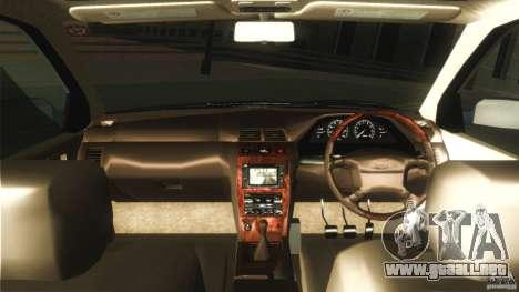 Nissan Cefiro A32 Kouki para visión interna GTA San Andreas