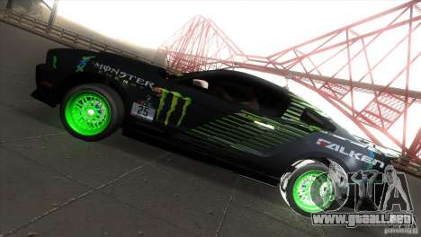Ford Shelby GT500 Falken Tire para GTA San Andreas left