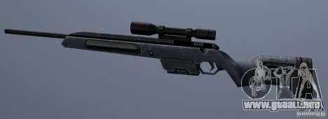 Steyr Scout para GTA San Andreas tercera pantalla