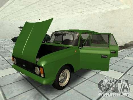 IZH Combi 21251 para la visión correcta GTA San Andreas