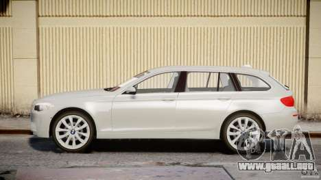 BMW M5 F11 Touring para GTA 4 left