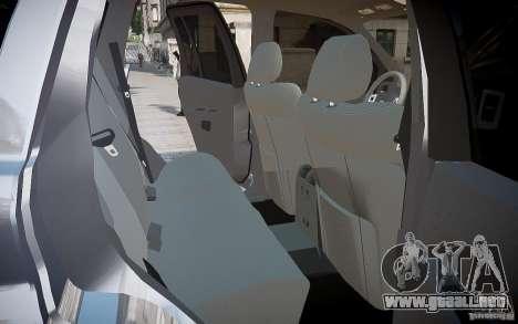 Jeep Grand Cheroke para GTA 4 ruedas