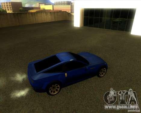 Exage para GTA San Andreas vista posterior izquierda