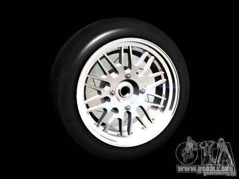 Old School Rims Pack para GTA San Andreas sexta pantalla