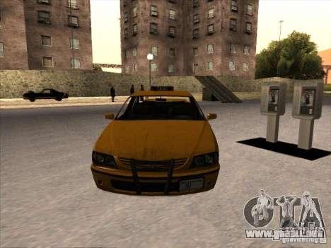 Taxi de GTA IV para la visión correcta GTA San Andreas
