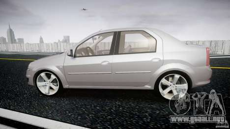 Renault Logan para GTA 4 left