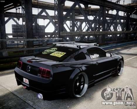 Ford Mustang GT Lowlife para GTA 4 visión correcta