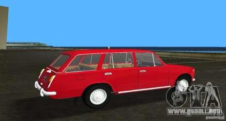 VAZ 2102 para GTA Vice City vista lateral izquierdo