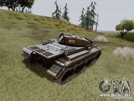 PzKpfw II Ausf.B para GTA San Andreas vista posterior izquierda