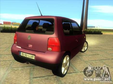Volkswagen Lupo para la visión correcta GTA San Andreas