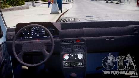 Fiat Duna 1.6 SCL [Beta] para GTA 4 visión correcta
