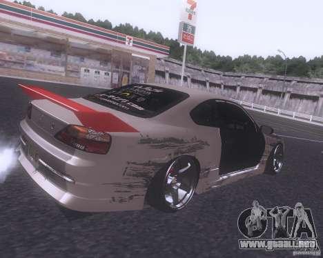 Nissan Silvia S15 Street para la visión correcta GTA San Andreas