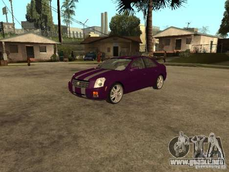 Cadillac CTS para visión interna GTA San Andreas
