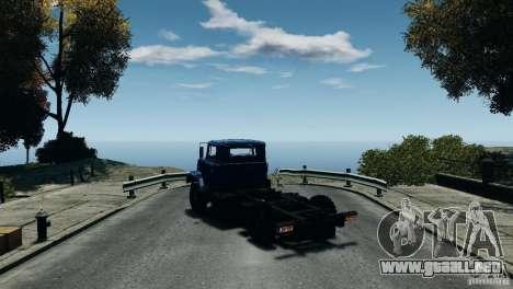 KrAZ-5133 para GTA 4 visión correcta