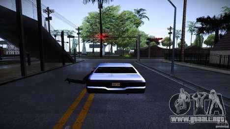 Los peatones se aferran para auto para GTA San Andreas segunda pantalla