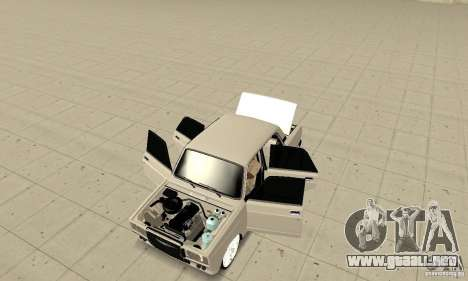Abrir o cerrar el maletero para GTA San Andreas