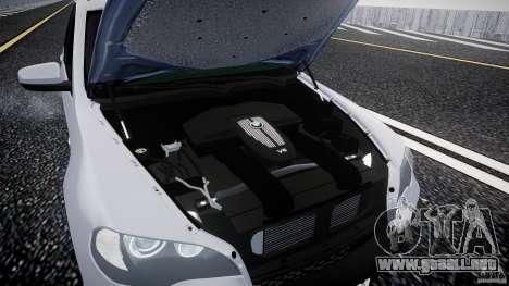 BMW X5 Experience Version 2009 Wheels 214 para GTA 4 vista hacia atrás