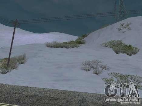 Frozen bone country para GTA San Andreas tercera pantalla