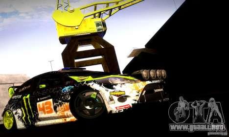 Ford Fiesta Gymkhana 5 para visión interna GTA San Andreas