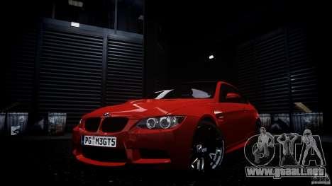 BMW M3 GT-S V.1.0 para GTA 4