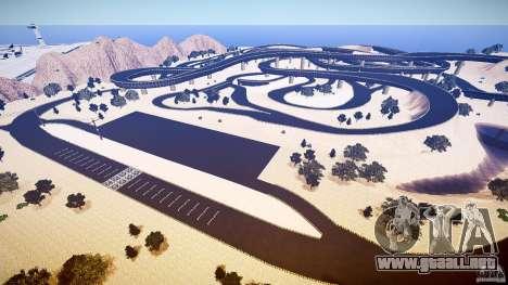 Dead Race Island para GTA 4 adelante de pantalla