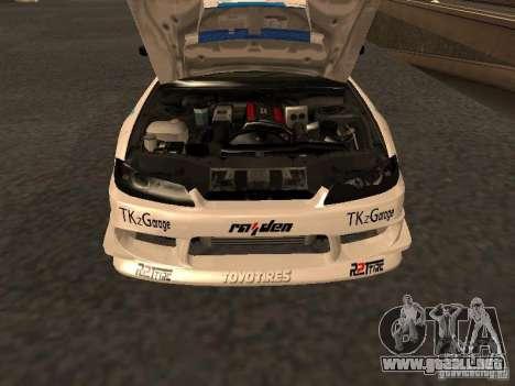 Nissan s15 Performa Drift para la visión correcta GTA San Andreas