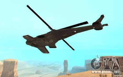 Scout Drone from BO2 para GTA San Andreas left