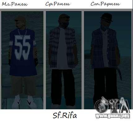 Pieles de los sureños 13 para GTA San Andreas