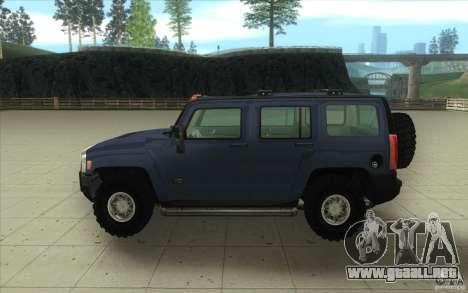Hummer H3 para visión interna GTA San Andreas