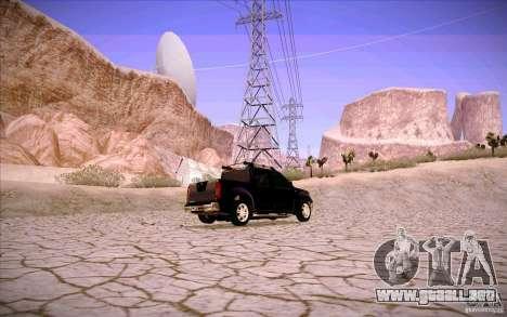 Nissan Fronter para el motor de GTA San Andreas