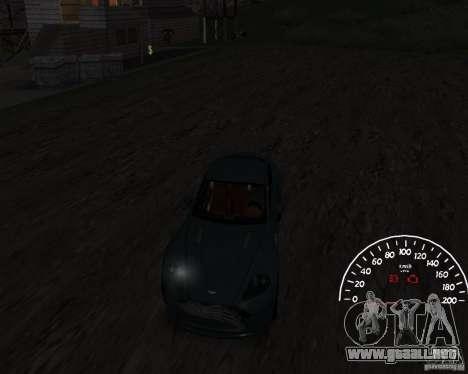 Velocímetro 1.0 para GTA San Andreas segunda pantalla