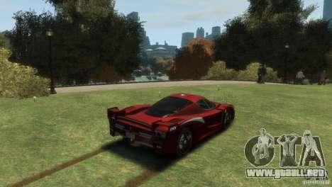 Ferrari FXX Evoluzione para GTA 4 left