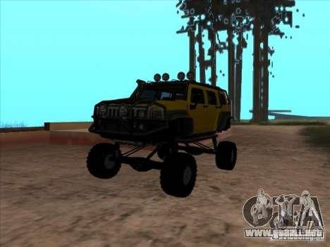 Hummer H3 Trial para GTA San Andreas