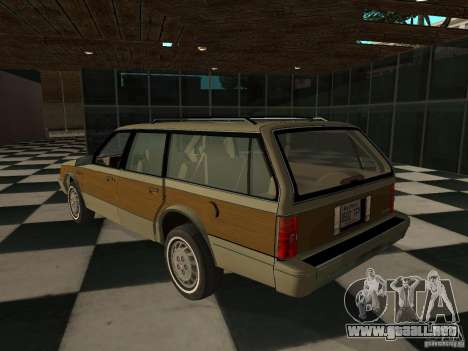 Oldsmobile Cutlass Cruiser 1993 para GTA San Andreas left