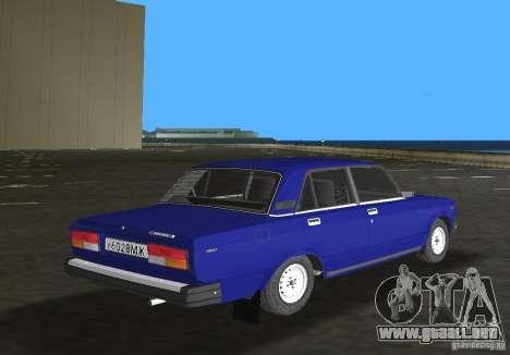 Auto LADA VAZ 2107 para GTA Vice City visión correcta