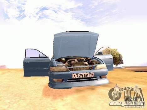 Toyota Mark II JZX90 para la visión correcta GTA San Andreas
