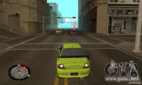 Carreras callejeras para GTA San Andreas décimo de pantalla