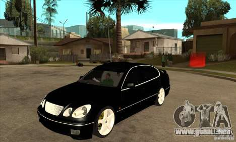 Año 2001 TOYOTA ARISTO para GTA San Andreas