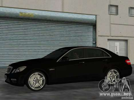 Mercedes-Benz E63 AMG para GTA Vice City left