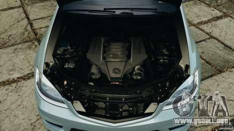 Mercedes-Benz S65 AMG 2012 v1.0 para GTA 4 vista desde abajo