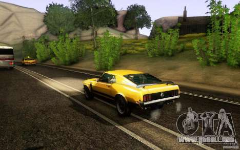 Ford Mustang Boss 302 para la visión correcta GTA San Andreas