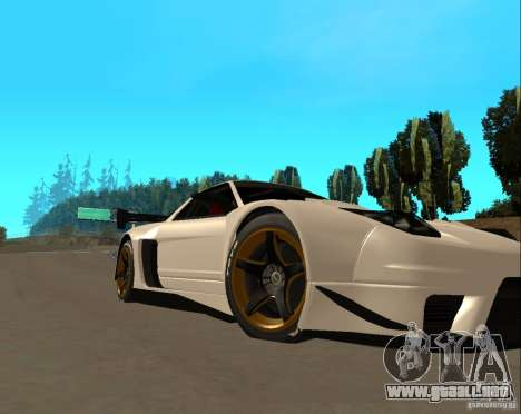 Acura NSX Sumiyaka para GTA San Andreas left